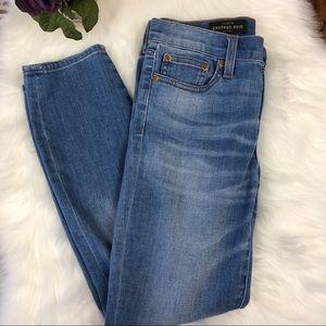 J. Crew Reid Ankle Cropped Skinny Jeans Women's 26